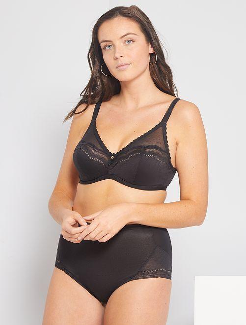 Braguita Maxi Secret Comfort 'Playtex'                             negro