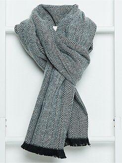 Mujer Bufanda de punto fino
