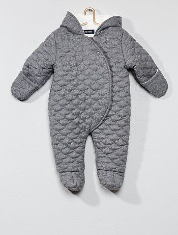 Buzo de bebé con forro de tejido polar - Kiabi