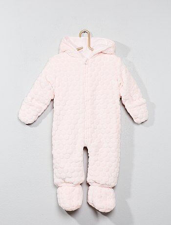 Niño 0-36 meses - Buzo de ratina - Kiabi fdef9639cb5
