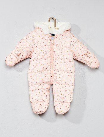 Buzo para bebé con forro de tejido polar - Kiabi