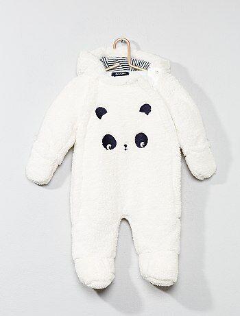 Buzo para bebé panda - Kiabi