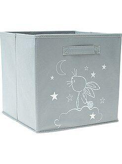Caja de almacenaje con motivo de conejo