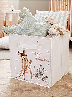 Caja de almacenaje de 'Bambi' y 'Tambor' - Kiabi