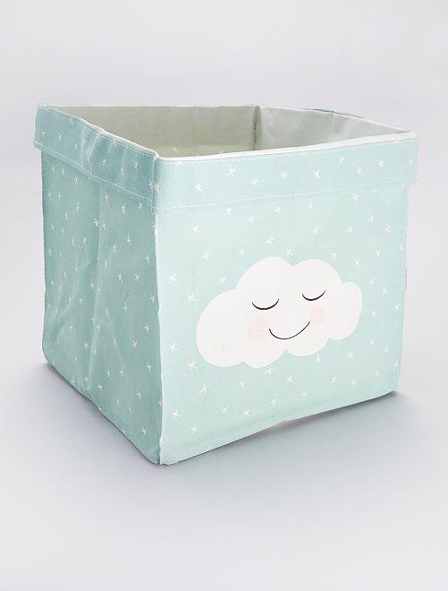 Caja de almacenaje 'nube'                             AZUL