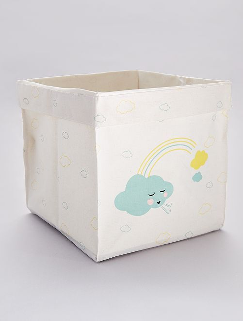 Caja de almacenaje 'nube'                                                     ROSA