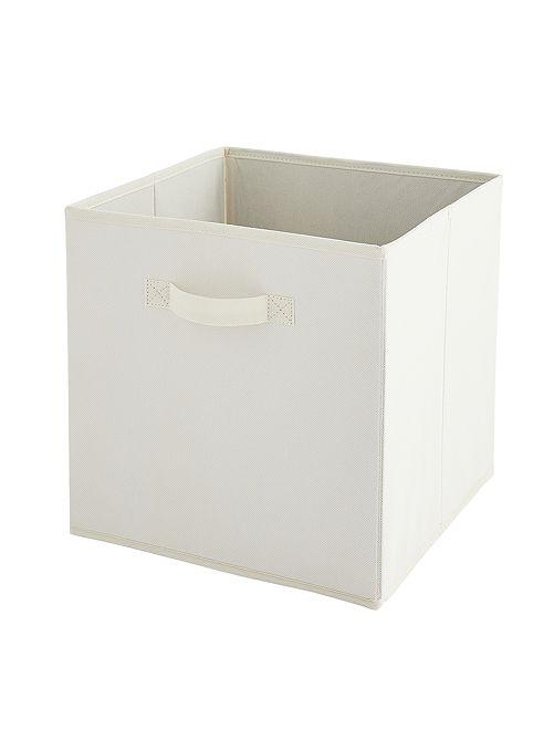 Caja de almacenaje plegable                                                                                                     BLANCO