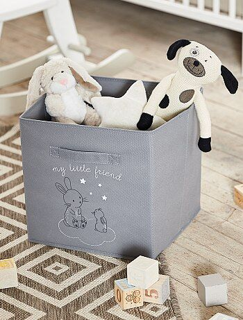 Niña 0-36 meses - Caja de almacenaje plegable 'conejos' - Kiabi
