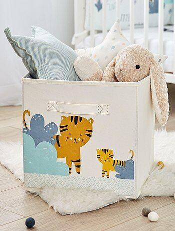 Caja de almacenaje plegable 'tigre' - Kiabi