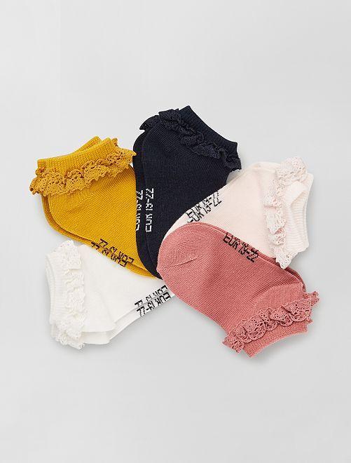 Calcetines de ceremonia                                         ROSA