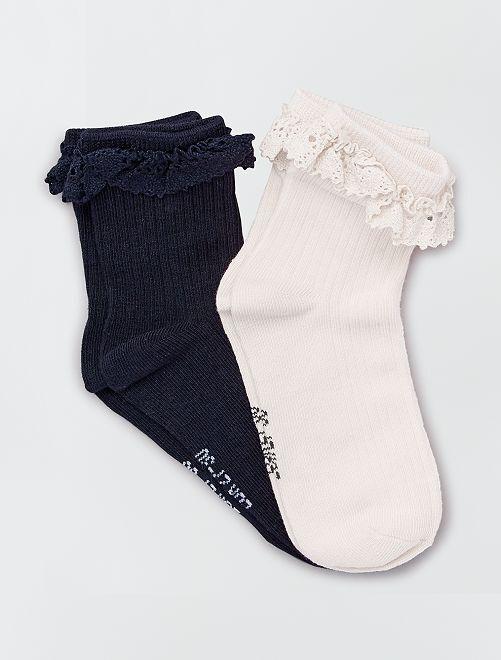 Calcetines de fiesta                                         BLANCO