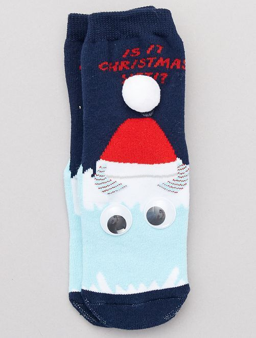 Calcetines de Navidad                                         BEIGE