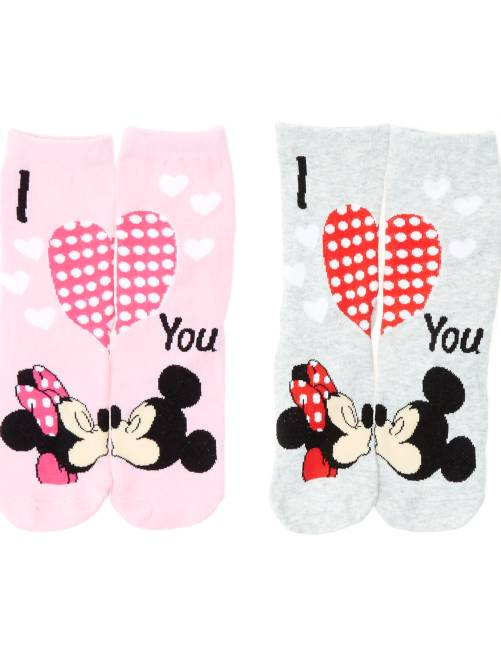 Calcetines 'Disney Minnie Mouse'                                         GRIS Chica