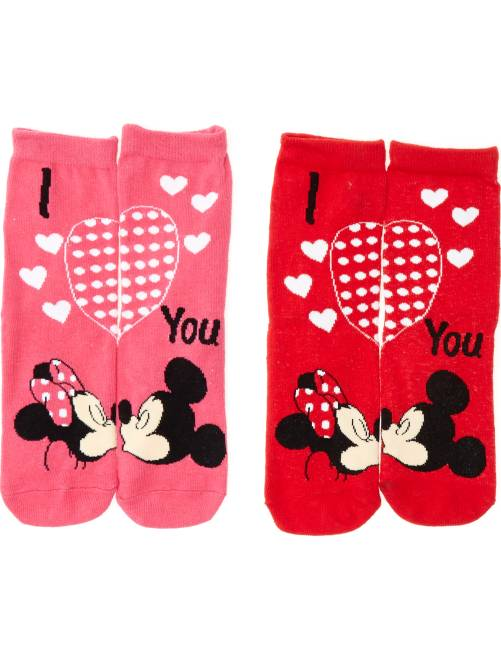 Calcetines 'Disney Minnie Mouse'                                         ROJO Chica