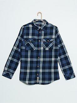 Niño 10-18 años Camisa 100 % algodón