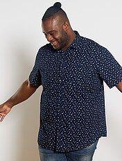 Camisas Manga Corta Tallas Grandes Hombre Kiabi