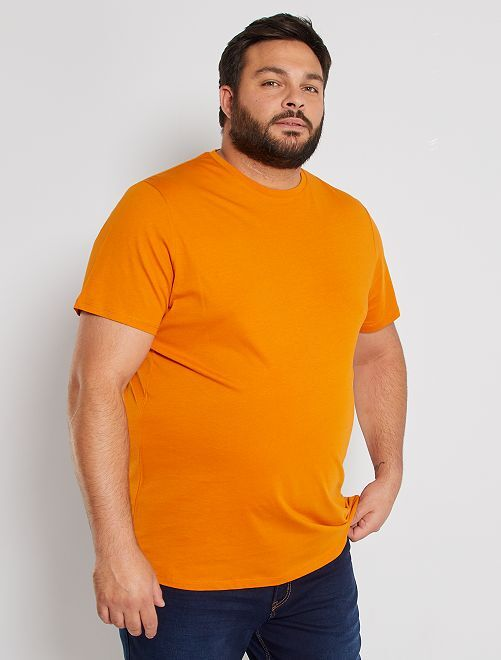 Camisa cómoda de punto                                                                                                                                         AMARILLO