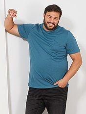 1b5bd000664e Camisetas basicas 3xl, 4xl,5xl, 6xl   Tallas grandes hombre   Kiabi