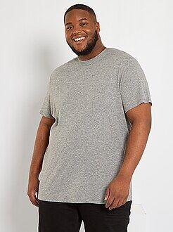 Camisetas básicas - Camisa cómoda de punto - Kiabi