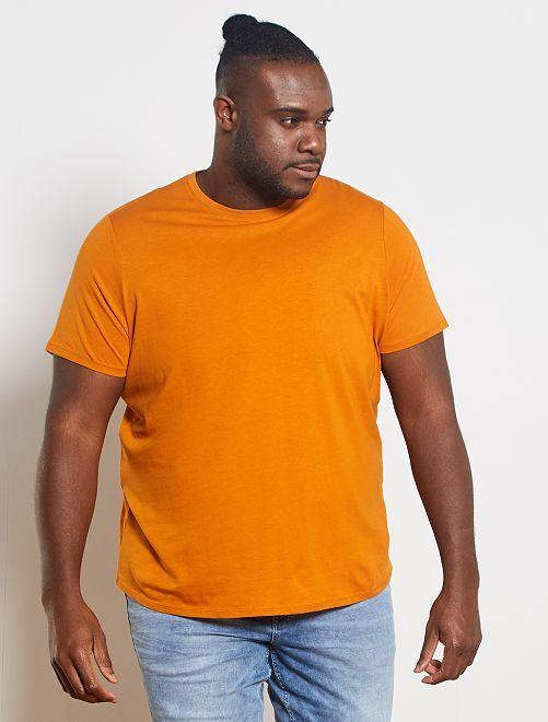 Camisa cómoda de punto                                                                                                                                                     marrón
