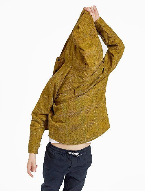 Camisa con capucha                             GRIS Chico