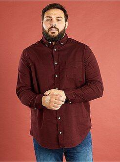 Camisas casual - Camisa con corte recto de algodón ribstop