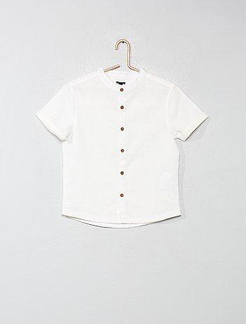 e23005fa7 Camisa con cuello mao - Kiabi