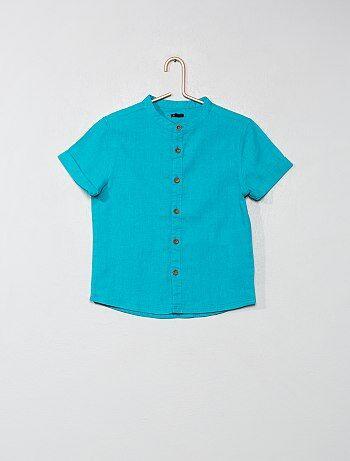 Camisa con cuello mao - Kiabi 6f7509f37d58f