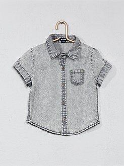 Niño 0-36 meses - Camisa con efecto descolorido - Kiabi