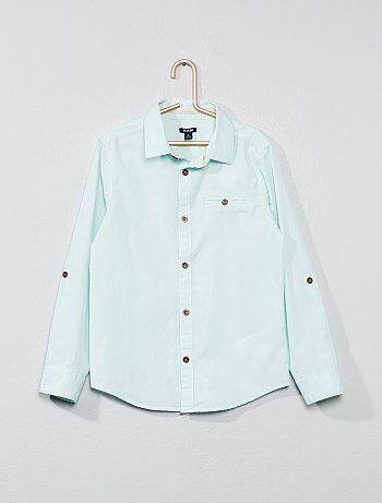 ba2510c207b Niño 3-12 años - Camisa con estampado trasero - Kiabi