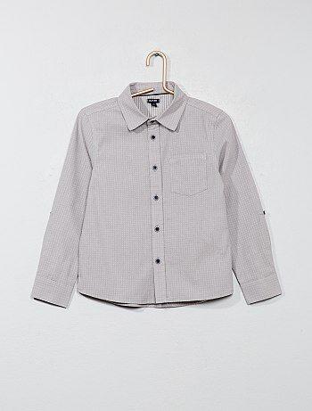Camisa con motivos - Kiabi ee9a8963a5859