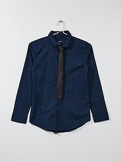 Niño 10-18 años Camisa + corbata