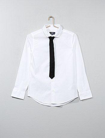 Camisa + corbata - Kiabi