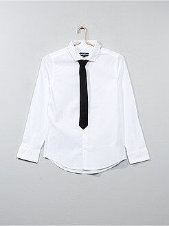 Camisa + corbata