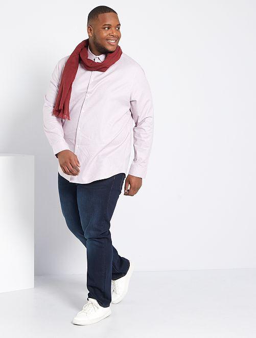 Camisa de algodón 'eco-concepción'                     ROSA