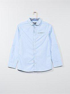 Camisas - Camisa de algodón puro - Kiabi