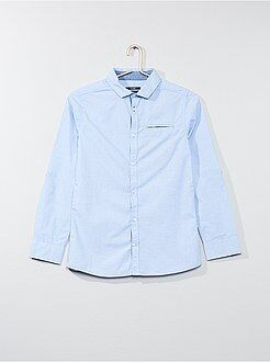 Niño 10-18 años Camisa de algodón puro