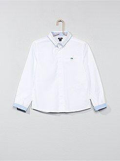 Camisas - Camisa de algodón puro con textura - Kiabi