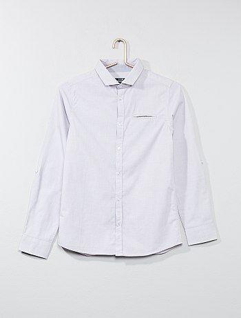 Camisa de algodón puro - Kiabi