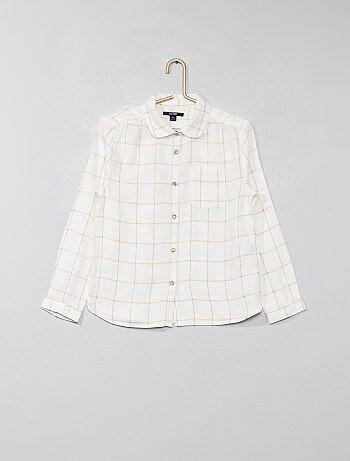 91f83cce6a9 Niña 3-12 años - Camisa de cuadros - Kiabi