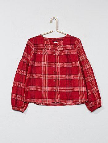 Camisa de cuadros - Kiabi