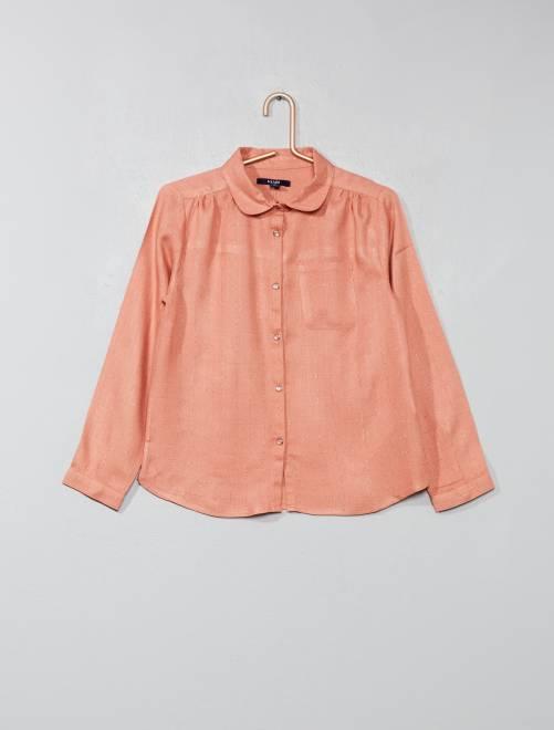 Camisa de cuadros                                                                             ROSA Chica