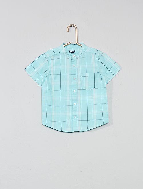 Camisa de cuadros                                                     VERDE Bebé niño
