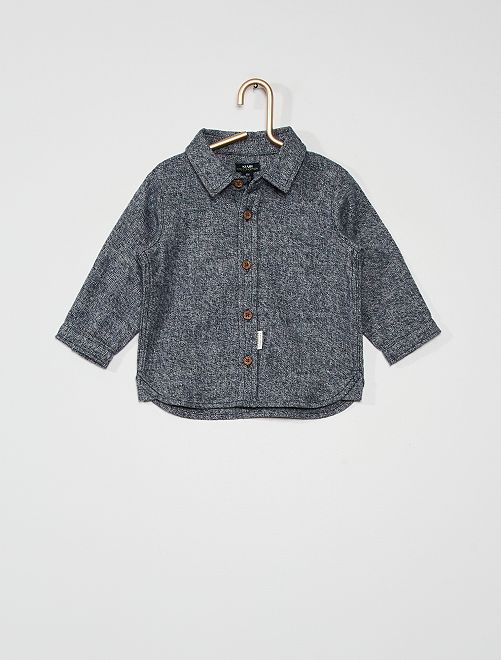 Camisa de franela                                         BLANCO