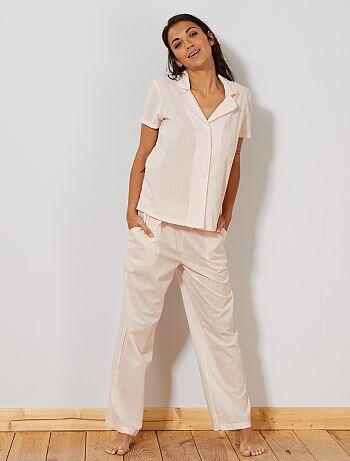 12270a328a Camisa de gasa de algodón - Kiabi