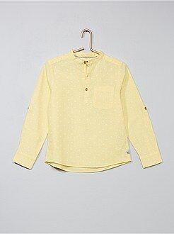 Camisa de lino y algodón - Kiabi