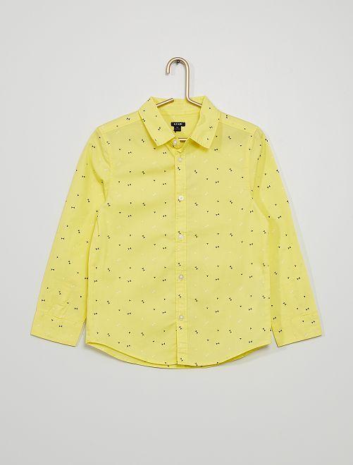 Camisa de popelina                                                                             AMARILLO