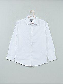 Niño 10-18 años Camisa de popelina