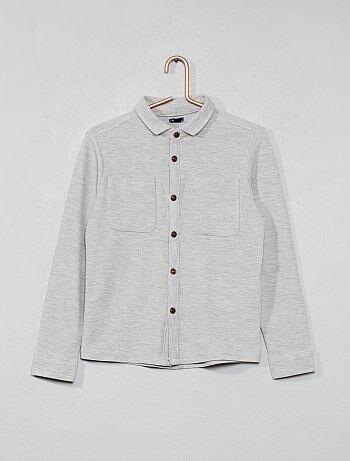 Camisa de punto de piqué - Kiabi 138fa9664434e
