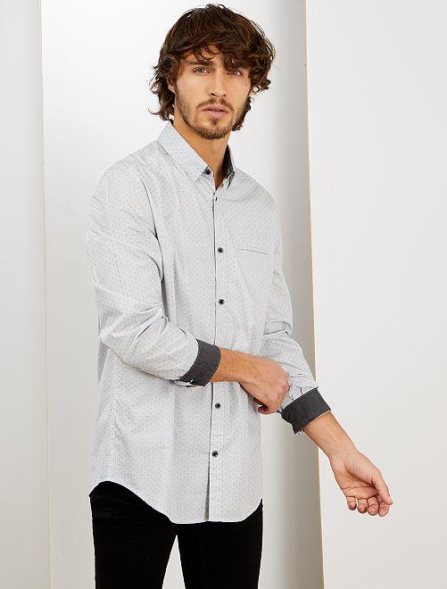 Camisa de vestir                                                     GRIS